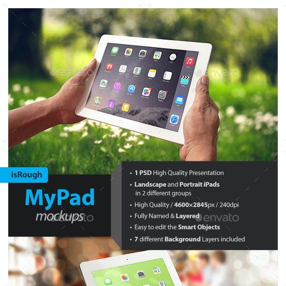 MyPad Mockups