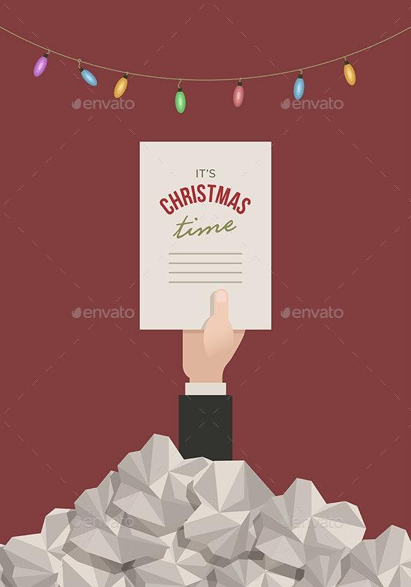 Overtime Christmas in Office - Christmas Seasons/Holidays