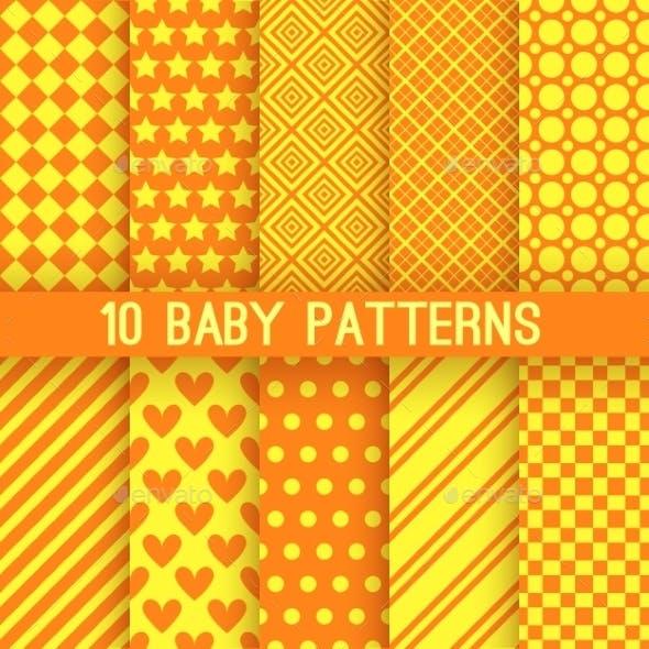 Orange Patterns
