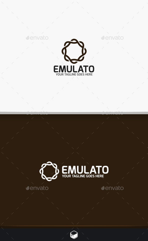 Emulato Logo - Vector Abstract