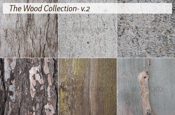 The Wood Collection - v.2 - Wood Textures