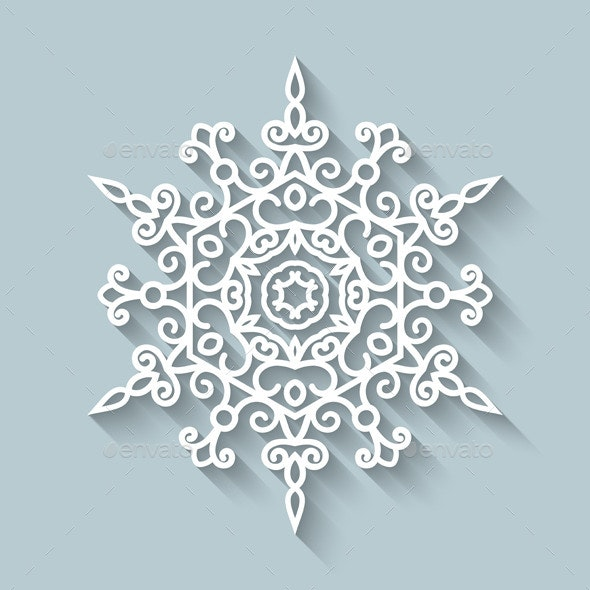 Paper Lace Doily - Christmas Seasons/Holidays