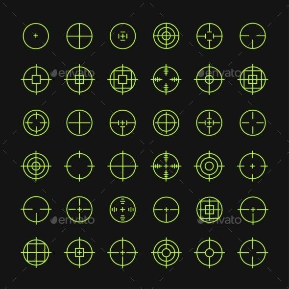 Crosshair Symbols
