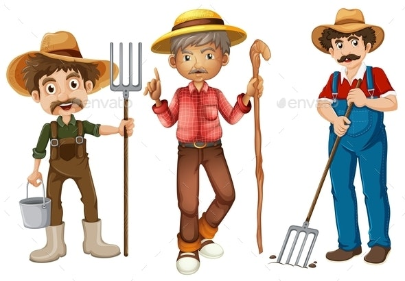 Farmers - People Characters
