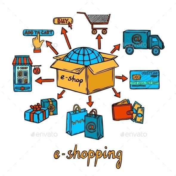 E-commerce Design Concept - Retail Commercial / Shopping