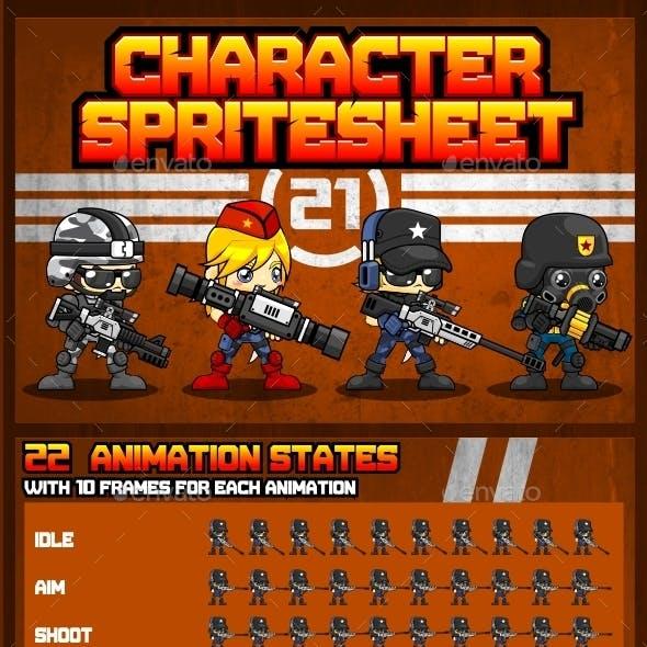 Characters Spritesheet 21