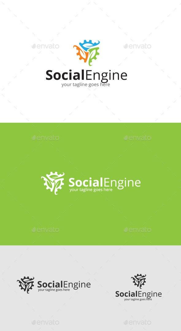 Social Engineering Logo - Symbols Logo Templates