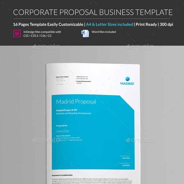 Proposal Business Template