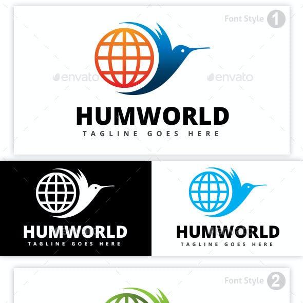 Hummingbird World Logo