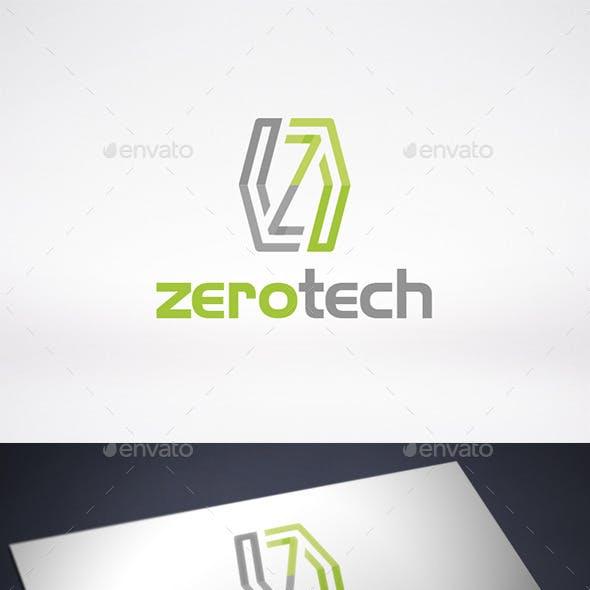 Zero Letter Z Logo Template