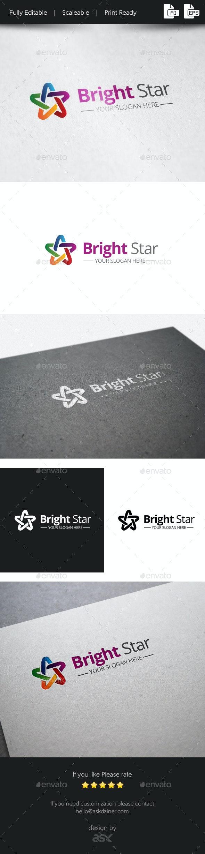 Bright Star - Vector Abstract