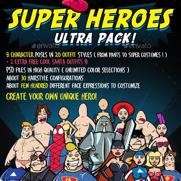 Super Heroes Ultra Pack