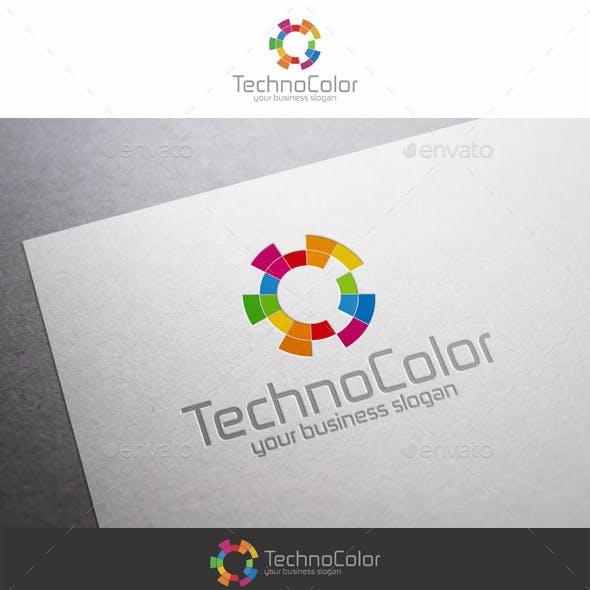 Bright High Tech Logo Template