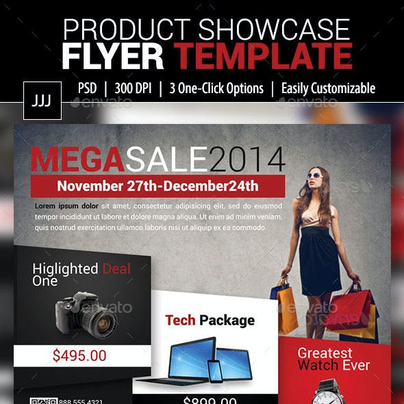Product Showcase Flyer 11