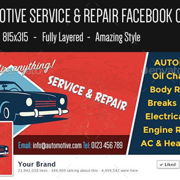 Automotive Facebook Cover