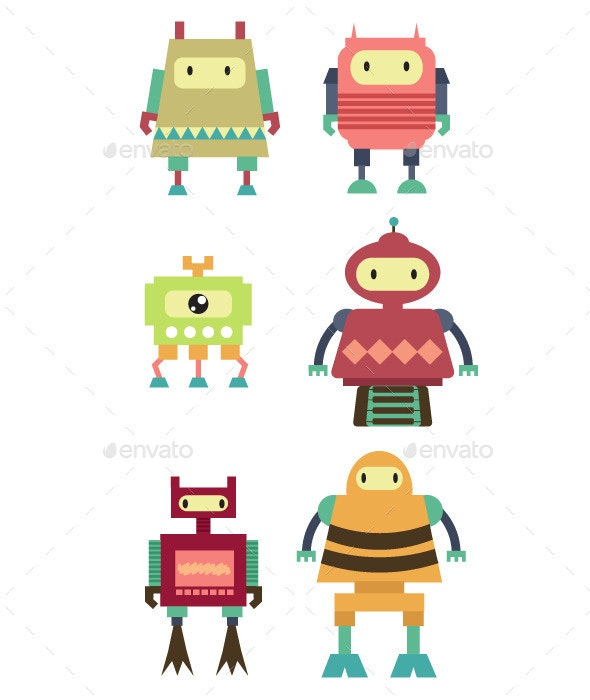 Robot Set - Miscellaneous Characters