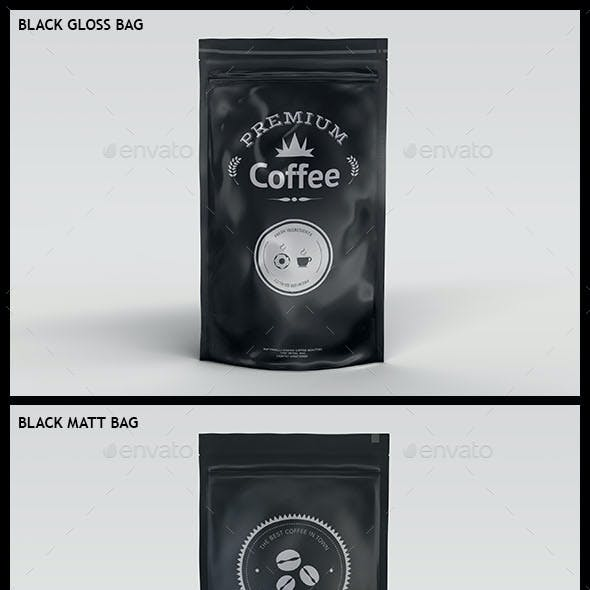 Foil Bag Mock-up Pack