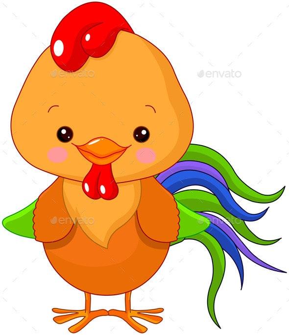 Cockerel - Animals Characters