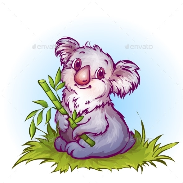 Cartoon Koala - Animals Characters