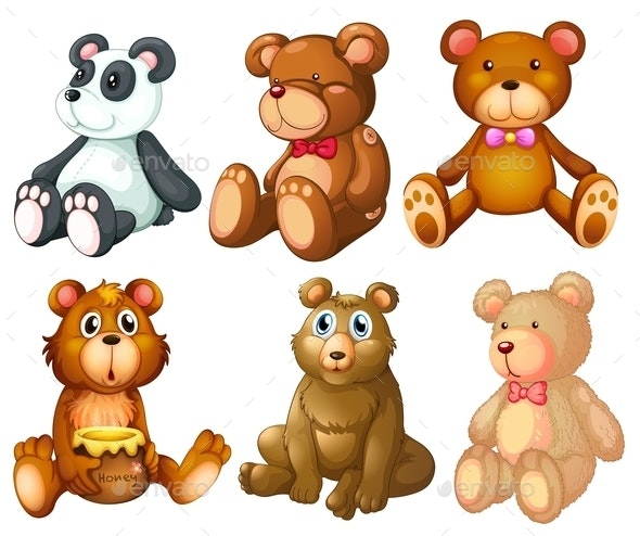 Teddy Bears - Animals Characters
