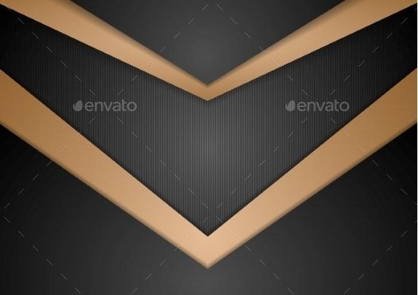 Dark Corporate Background - Backgrounds Decorative