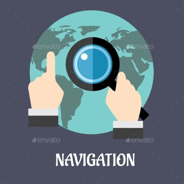 Navigation or Search Concept