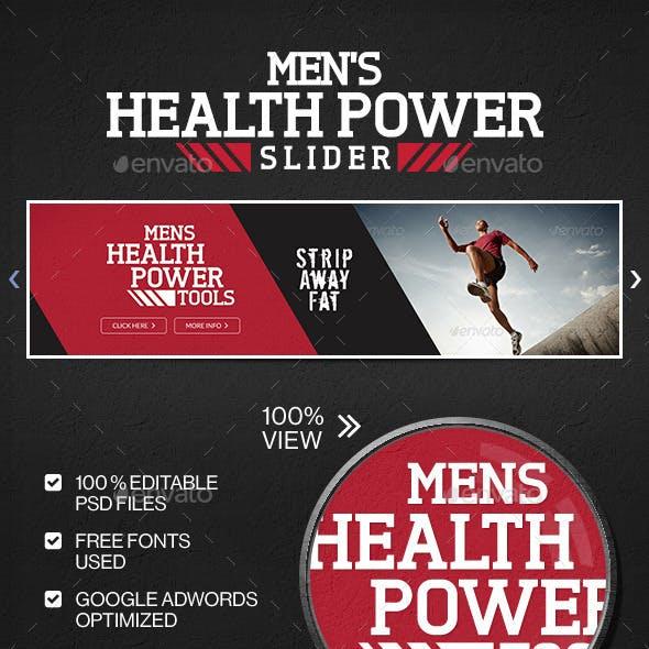 Health & Fitness Slider