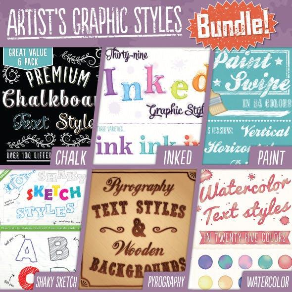 Artist's Graphic Styles Bundle