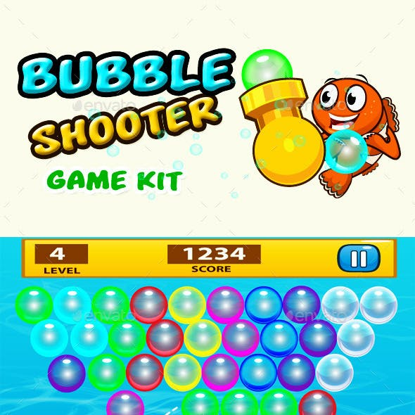 Game Assets- Bubble Shooter.