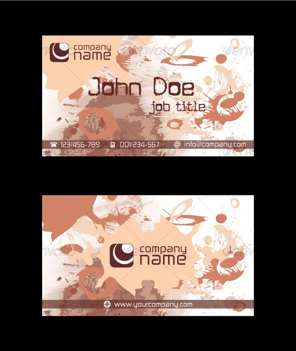 Grunge Business Card - Grunge Business Cards