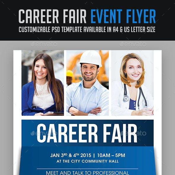 Career Fair Event Flyer