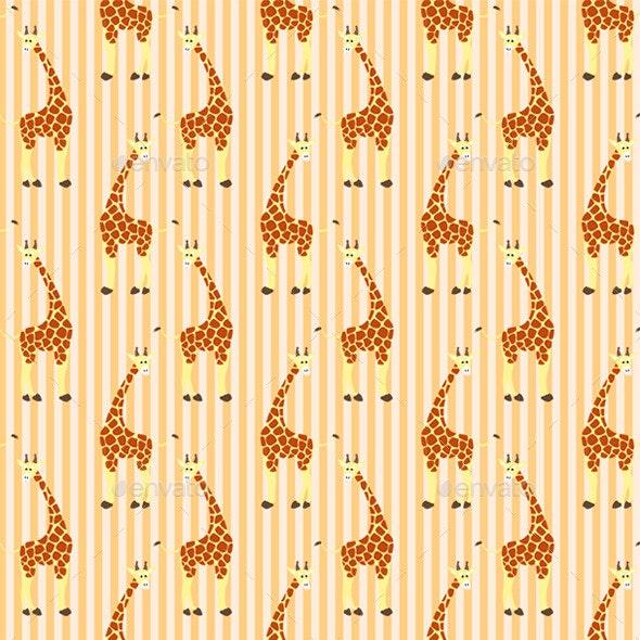Giraffe Pattern - Animals Characters
