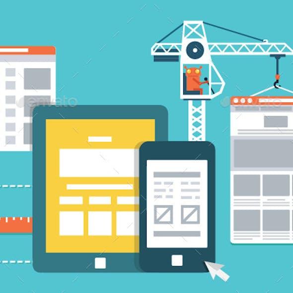 Development Skeleton Framework of a Website