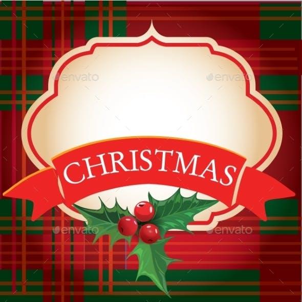 Christmas Frame with Banner