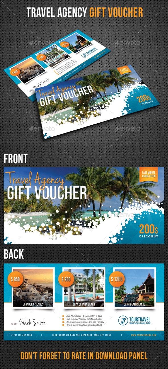 Travel Agency Gift Voucher