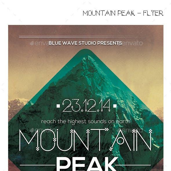 Mountain Peak - Flyer