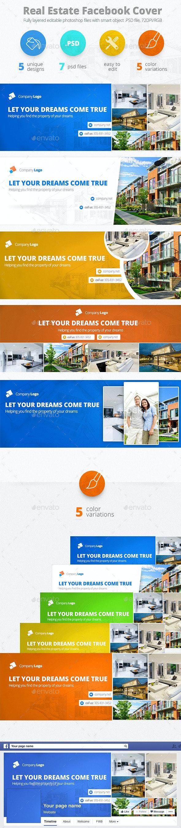 Real Estate Facebook Cover  - Facebook Timeline Covers Social Media