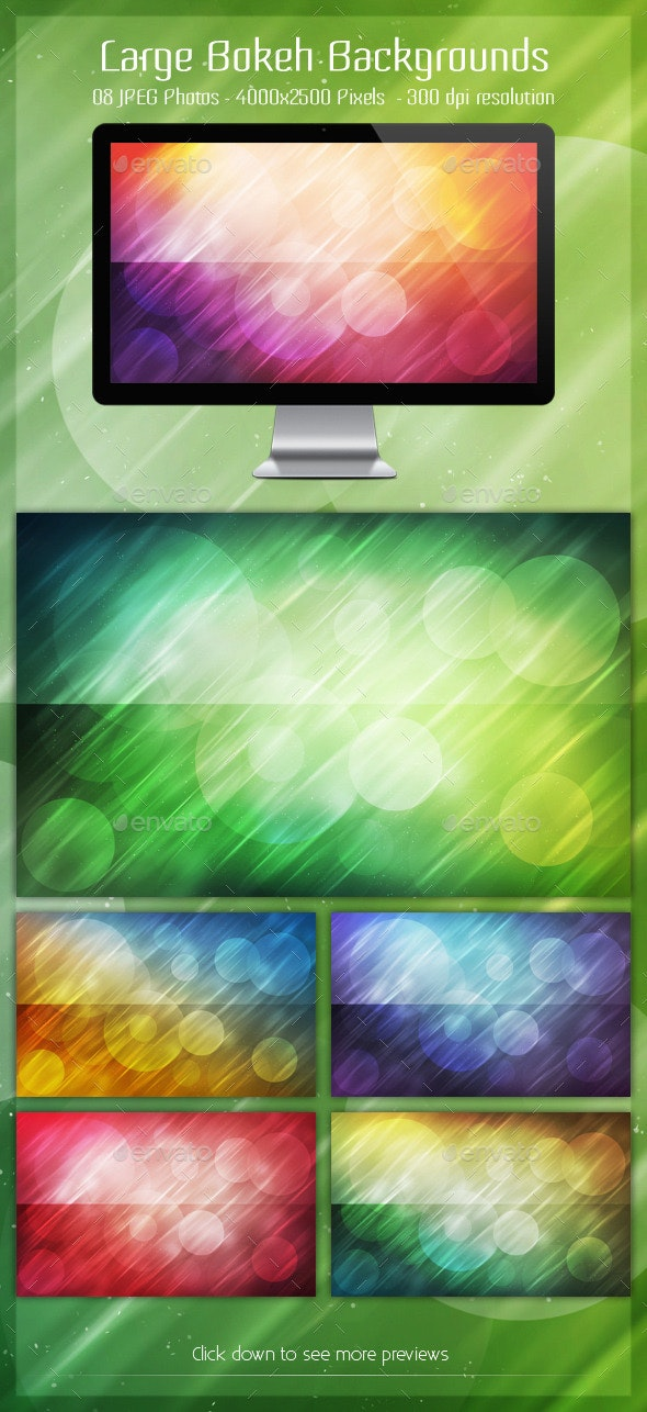 Large Bokeh Backgrounds - Backgrounds Graphics