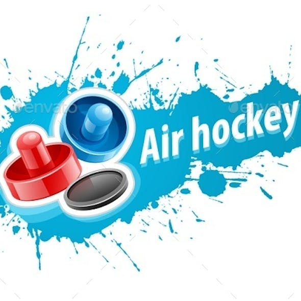Air Hockey Graphics, Designs & Templates from GraphicRiver