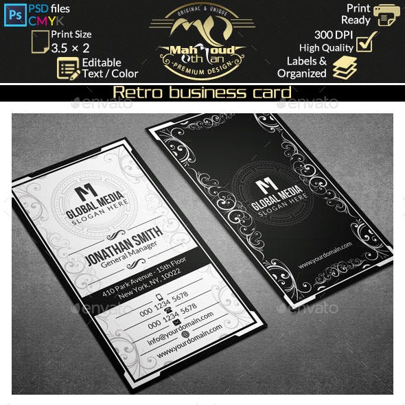 Retro Business Card 59