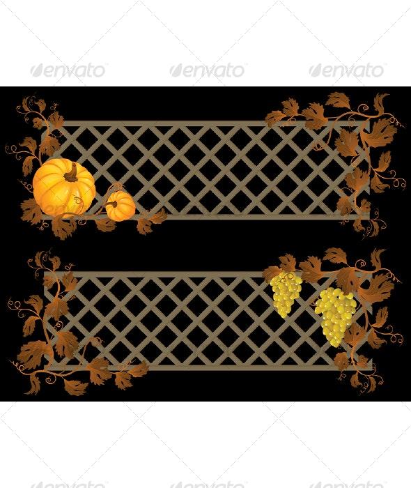 Autumn Banner - Backgrounds Decorative