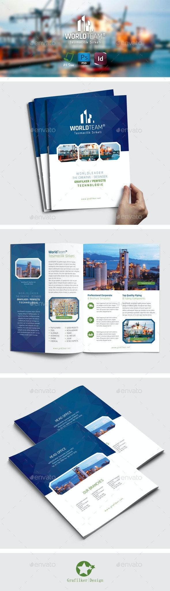 International Brochure Templates - Brochures Print Templates