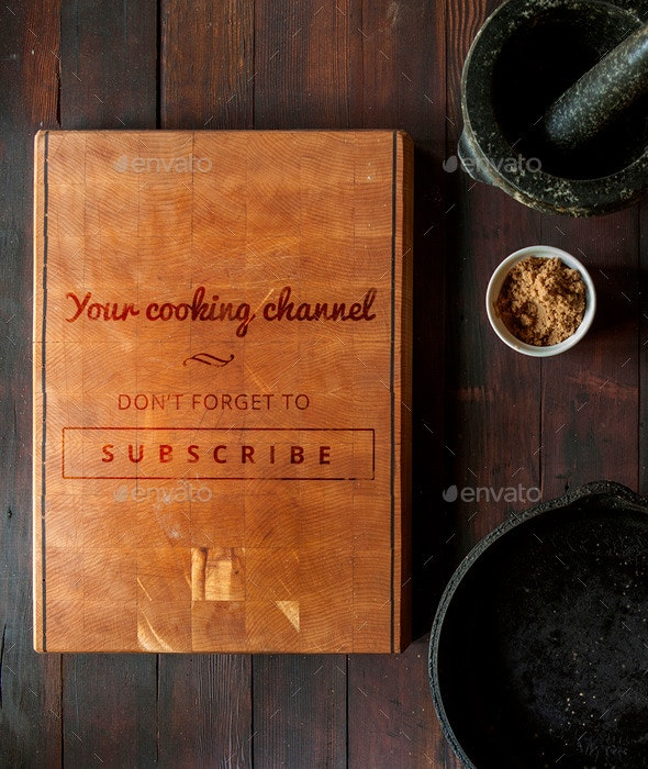 Cooking Channel - YouTube Channel Art - YouTube Social Media