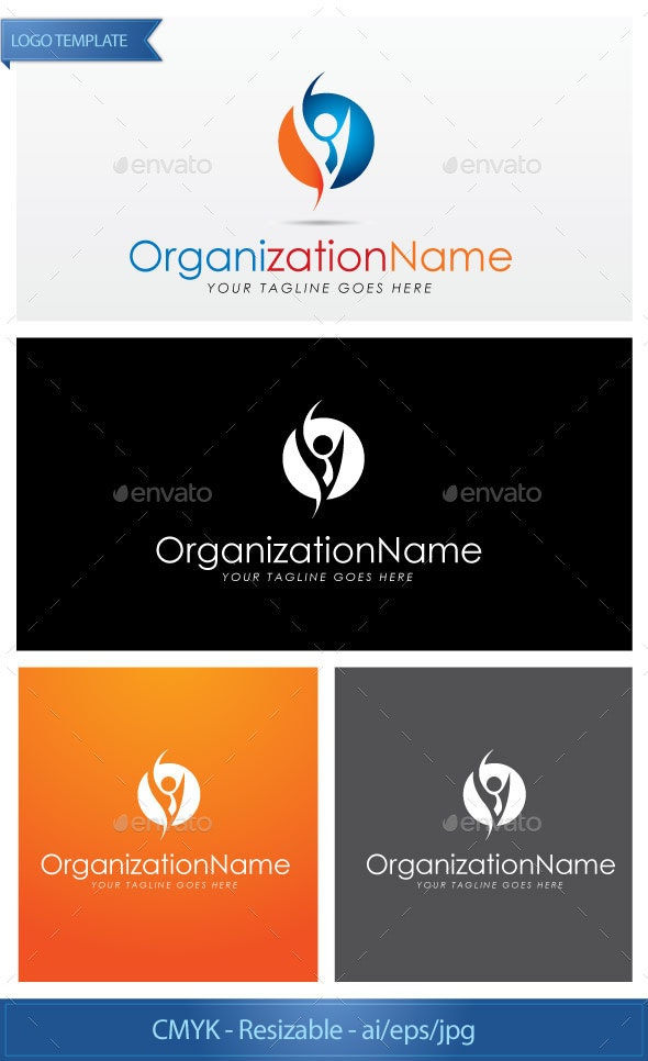 Social Smart Man - Logo Templates