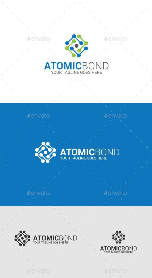 Atom - Molecule Logo - Symbols Logo Templates