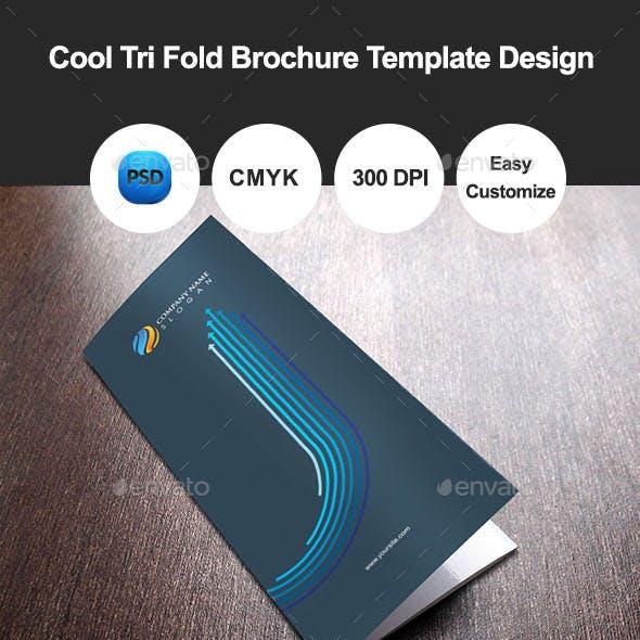 Cool Tri Fold Brochure Template Design