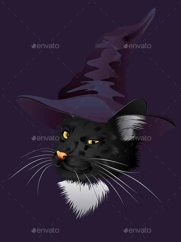 Kitty Witchy - Halloween Seasons/Holidays