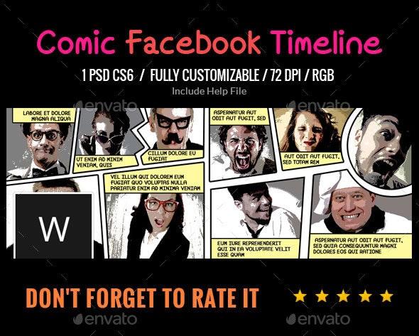 Comic Book Facebook Cover - Facebook Timeline Covers Social Media