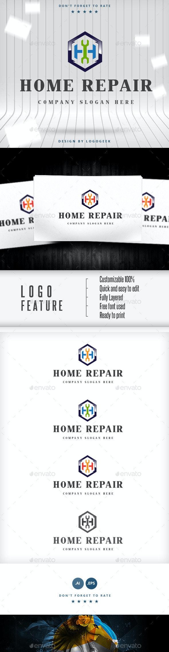 Home Repair V.2 - Buildings Logo Templates