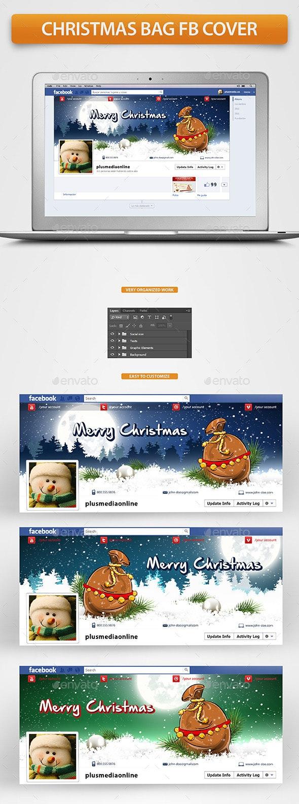 Christmas Bag Facebook Timeline Cover - Facebook Timeline Covers Social Media